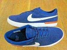 Nike SB Mens Koston Hypervulc Blue Void White Suede Skate Shoes Size 12 New