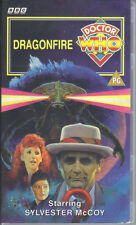 """Doctor Who - """"Dragonfire"""" VHS PAL sealed"""