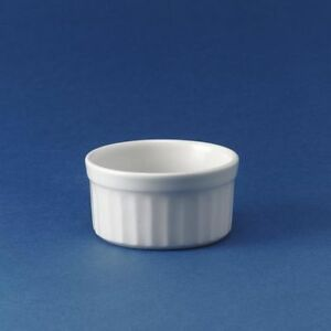 24 X Churchill White Ramekin Super Vitrified China 9cl 3.2oz Dish Bowl