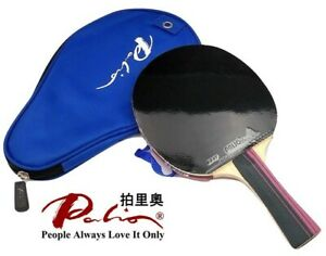 Palio 3 Star Table Tennis Racket with Case