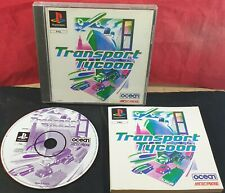 Transport Tycoon Sony Playstation 1 VGC