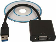 USB 3.0 to VGA adapter, USB 3.0 to VGA Video Graphic Card Display External Cable