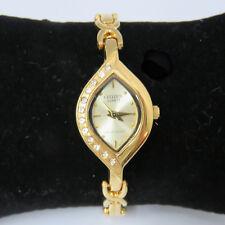 "NYJEWEL Brand New Citizen Gold Tone Crystal Ladies Bracelet Watch 7"" Great Gift!"