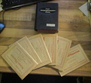 36 Sammelbilder Arznei-Pflanzen Ausgabe A Folge 15-20 in originaler Sammelmappe