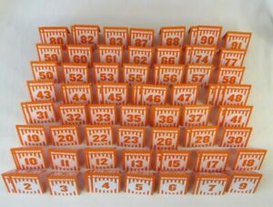 Whataburger Order Table Tent Choose Your Lucky Number Birthday Matte Glossy
