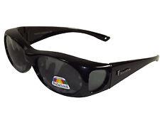 Figuretta Sonnen- Überbrille UV 400 Polarisiert für Brillenträger Polbrille