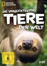 DVD-Box: Die verrücktesten Tiere der Welt * 3 DVD's * Zustand: Neu * ovp