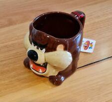 Rare BNWT Looney Tunes Applause TAZ Ceramic Mug Warner Bros Christmas Vacation