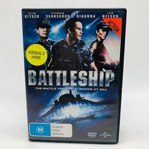 Battleship (DVD, 2012) Regions 2,4&5 With Liam Neeson In Very Good Condition