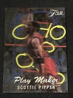 🔥ULTRA RARE🔥 1995-96 Flair Basketball SCOTTIE PIPPEN PLAY MAKER, Chicago BULLS