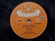 Helmut Zacharias Dixie Fur Geige / Der Pfeifer und sein Hund Polydor 50248 NM