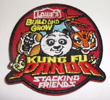 """Kung Fu Panda~Iron on Patch~Lowe's Build and Grow """"Stacking Friends""""~2 1/8""""~NEW"""