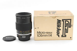 Excellent+++++ Nikon Micro NIKKOR 105mm f/4 EX Macro MF Lens Boxed from Japan