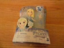 Disney Frozen Little Kingdom Queen Elsa Mini Doll Figure Hasbro Snap Ins New