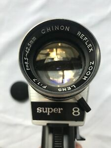 Is there a Spielberg inside you? Chinon Dart power zoom super 8mm camera
