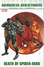 Ultimate Comics Avengers Vs. New Ultimates  SC TP  New  OOP  Death Spiderman