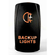 Tuff LED Lights - Two Way Backup Lights Amber Rocker Switch