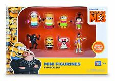 MTW Toys 20017 Despicable Me 3 Figure Set of 8