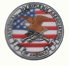 """NRA NATIONAL RIFLE ASSOCIATION Badge Patch 8x8 cm 3.1"""""""
