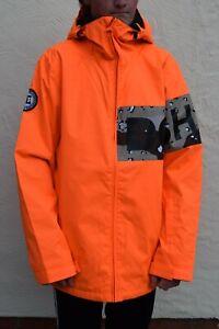 BNWT DC Shoes Men's Propaganda Snowboard Jacket, Carrot (Orange), Ski, RRP £199