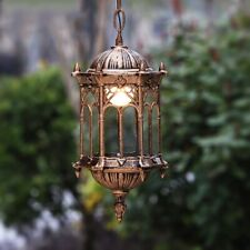OUTDOOR PENDANT LIGHTS Bronze Painted Residential Hotel Balcony Parlor Lamps