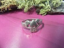 Beautiful Heart Love Jesus Claddagh Band Ring 925 Sterling Silver*Size 7*G227