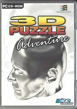 3D PUZZLE ADVENTURE /*/ JEUX PC POUR WINDOWS 95/98/2000/ME/XP. NEUF/CELLO