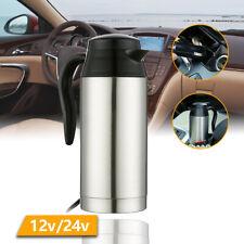 12V/24V 750ML doppelwandige Auto Flötenkessel Wasserkanne für Milch, Saft, Wein
