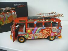 1:18 Schuco VW Volkswagen T1 Samba Bus HIPPIE 1:18 4500283000 NEW