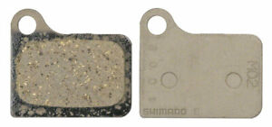 Shimano M02 Resin Disc Brake Pads and Spring for Deore BR-M555 Calipers