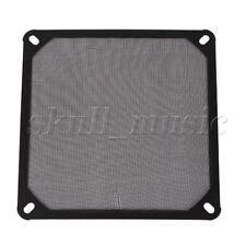 Black 14cm 140mm PC Computer Chassis Fan Dustproof Filter Mesh Metal Strainer