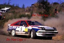 Shekar Mehta & Yvonne Mehta Nissan 200 SX Olympus Rally 1987 Photograph 1