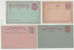 D2784 : (15) Tôt Chile Postal Entier Articles