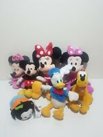 JOB LOT Disney Micky Minni Mouse Donald Duck Pluto Goofy Tsum Teddy Bundle