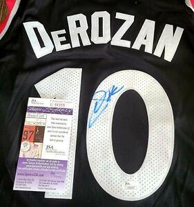 Demar Derozan Signed Toronto Raptors Jersey Size XL In Person JSA CERTIFIED