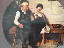 Collection Plate The Lighthouse Keeper's Daughter 1979 Rockwell