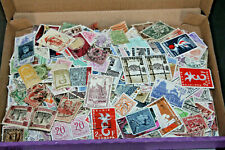 BELGIUM - FLAT BOX WITH UNCHECKED OFF PAPER COLLECTION 800+ STAMPS ALL ERAS