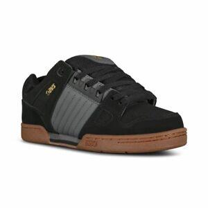 DVS Men's Celsius Black/Castlerock/Gum Skate Shoes Trainers UK 8 EU 42.5