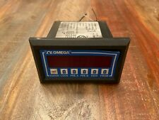USED OMEGA ENGINEERING FREQUENCY INPUT RATEMETER/TOTALIZER DP-F75-A