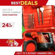 Hilti Te 5 Hammer Drill Preownedin Great Conditionmade In Germanyfast Ship