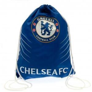 Chelsea FC Official Gym Bag Football Boots Swimming bag School P.E Kit Bootbag