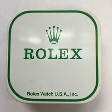 Vintage Rolex Watch Part Tin Box Display Container USA