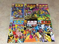 GUN RUNNER  #1,2,3,4,5,6 LOT OF 6 COMIC  NM 1993-1994 MARVEL