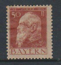 Germany (Bavaria) - 1911/13, 50pf - Type I - M/M - SG 145