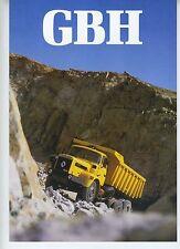 (51) Brochure RENAULT GBH