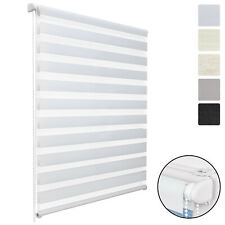 Sol Royal DL2 Double Layer Roller Window Blind Day Night LxW 150x55cm - White