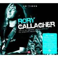 RORY GALLAGHER - LIVE AT MONTREUX 1975-94 (CD + 2 DVD)  CLASSIC ROCK & POP  NEW+