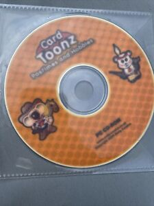 Card Toonz,  Crafting CD Rom pastimes and hobbies collection Papercraft knitting