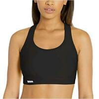 Essentials Women's Medium-Support Molded-Cup Sports, Black, Size Large PIa