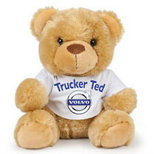 Teddy trucker ted Volvo brown teddy bear soft toy CE approved 17cm
